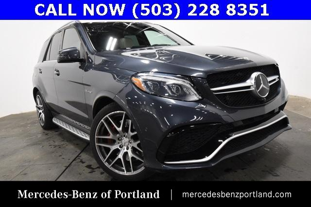 Certified Pre-Owned 2016 Mercedes-Benz GLE 4MATIC® 4dr AMG® GLE 63 S-Model