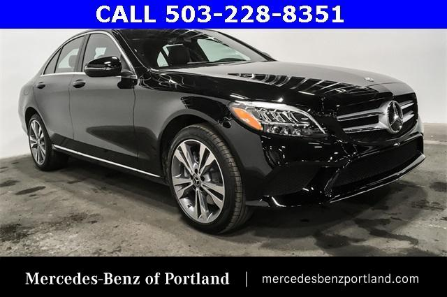 Certified Pre-Owned 2019 Mercedes-Benz C-Class C 300 4MATIC® Sedan