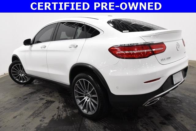 Certified Pre-Owned 2019 Mercedes-Benz GLC GLC 300 4MATIC® Coupe
