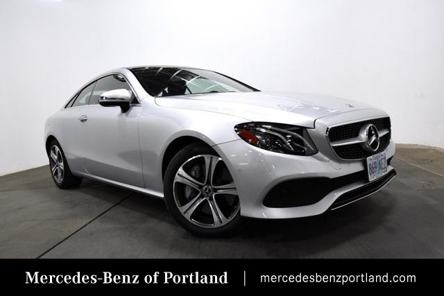 Certified Pre-Owned 2018 Mercedes-Benz E-Class E 400 4MATIC® Coupe