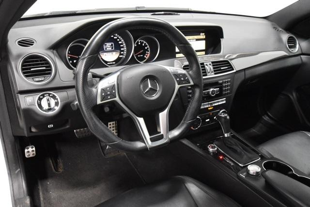 Pre-Owned 2012 Mercedes-Benz C-Class 2dr Cpe C 63 AMG® RWD