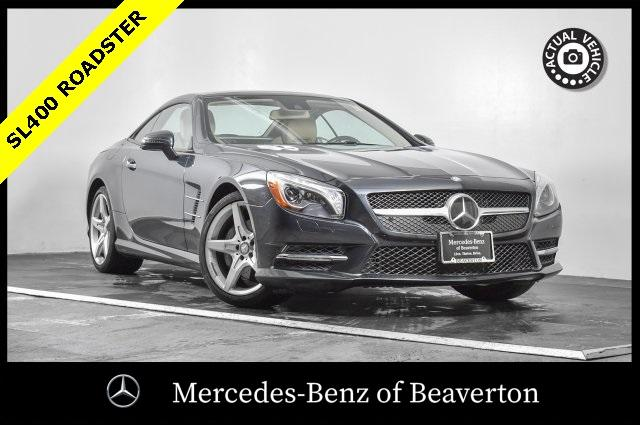 Certified Pre-Owned 2016 Mercedes-Benz SL 2dr Roadster SL 400