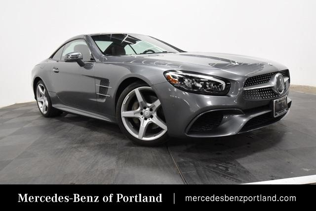 Certified Pre-Owned 2017 Mercedes-Benz SL SL 550 Roadster