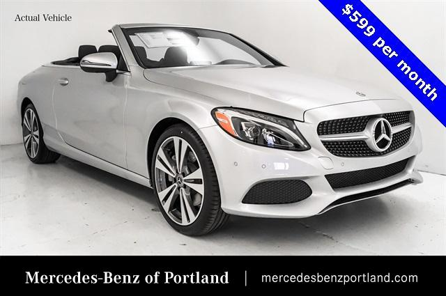 Certified Pre-Owned 2018 Mercedes-Benz C-Class C 300 4MATIC® Cabriolet