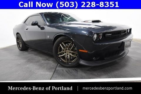 Pre-Owned 2018 Dodge Challenger 392 Hemi Scat Pack Shaker RWD
