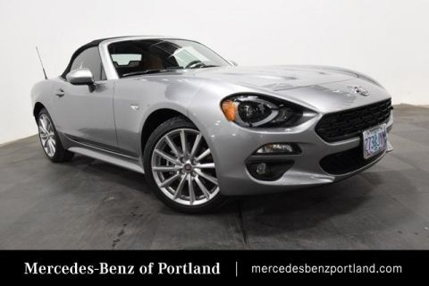 Pre-Owned 2017 FIAT 124 Spider Lusso Convertible