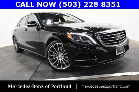 Certified Pre-Owned 2015 Mercedes-Benz S-Class 4dr Sdn S 550 RWD