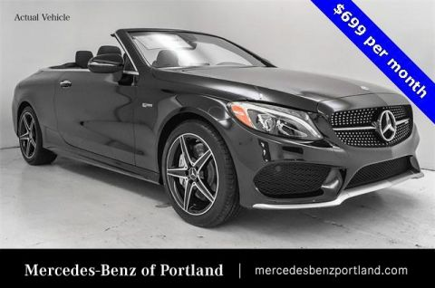 Pre-Owned 2018 Mercedes-Benz C-Class AMG® C 43 4MATIC® Cabriolet